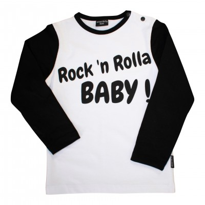 Lucky No.7 Rock 'n Rolla baby t-shirt